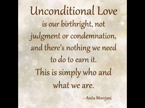 Unconditional Love Quotes Mesmerizing UNCONDITIONAL LOVE Quote Livingoutmypurpose