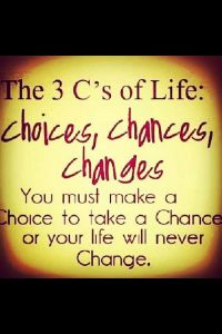 3 cs of life quote